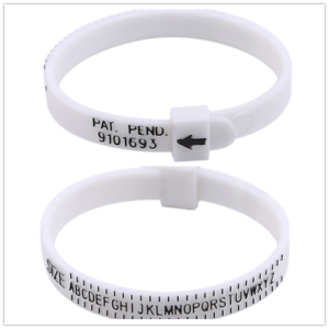Indo-Adjustable-United-States-Flexible-Round-Ring-Ruler-Shatter-Resistant-White