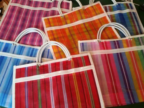 Traditional Mexican Market Grocery Bag Authentic Morral Bolsa de Mercado