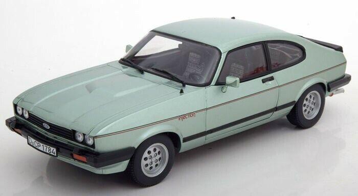 servicio considerado Ford Capri 2.8i verde verde verde Excelente Gran Detalle 1 18 escala Diecast Modelo Clásico Nuevo Y En Caja  orden en línea