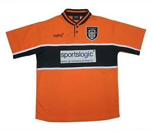 Notts County 2000-01 Authentic Away Shirt (eccellente) S Soccer Jersey