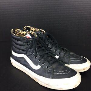 Details about Vans Womens Shoes Size 8 US 721278 Cheetah Leopard Skin Rear Zipper Old Skool
