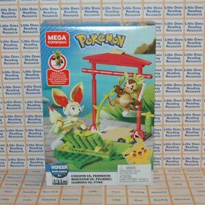 Mega-Construx-Pokemon-CHESPIN-VS-FENNEKIN-Building-Set-GFV79-131-Pieces