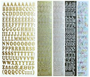 ALPHABET-UPPER-CASE-Peel-Off-Stickers-10mm-Letters-Card-Making-Scrapbooking