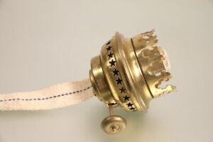 NOS Petroleum Flachbrenner Petroleumlampe Steckaufnahme 3cm Durchmesser