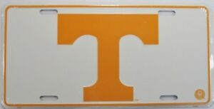 Details about UNIVERSITY OF TENNESSEE LICENSE PLATE VOLS METAL SIGN  VOLUNTEERS L195