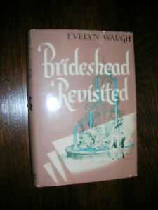 Brideshead-Revisted-by-Evelyn-Waugh-1945-First-American-Edition-Great-Condition