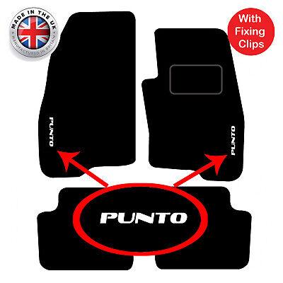 2 Clip 10 on Tailored Car Floor Mats FIAT PUNTO EVO ABARTH