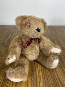 1990/'s collectible. Boyd/'s Small Jointed Brown Teddy Bear