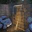 thumbnail 11 - Oase Waterfall 60 90 Water Blade Stainless Steel Garden Pond LED Illumination