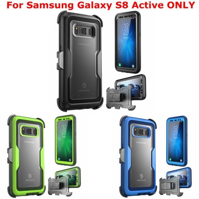 pretty nice de104 67ea9 For Samsung Galaxy S8 Active, i-Blason Full Body Case Cover + Screen  Protector