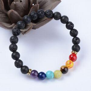 7-Chakra-Crystal-Stones-Bracelet-Healing-Beads-Jewellery-Mala-Reiki-Anxiety-Gift