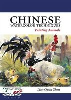 Chinese Watercolor Techniques: Painting Animals With Lian Quan Zhen [dvd]