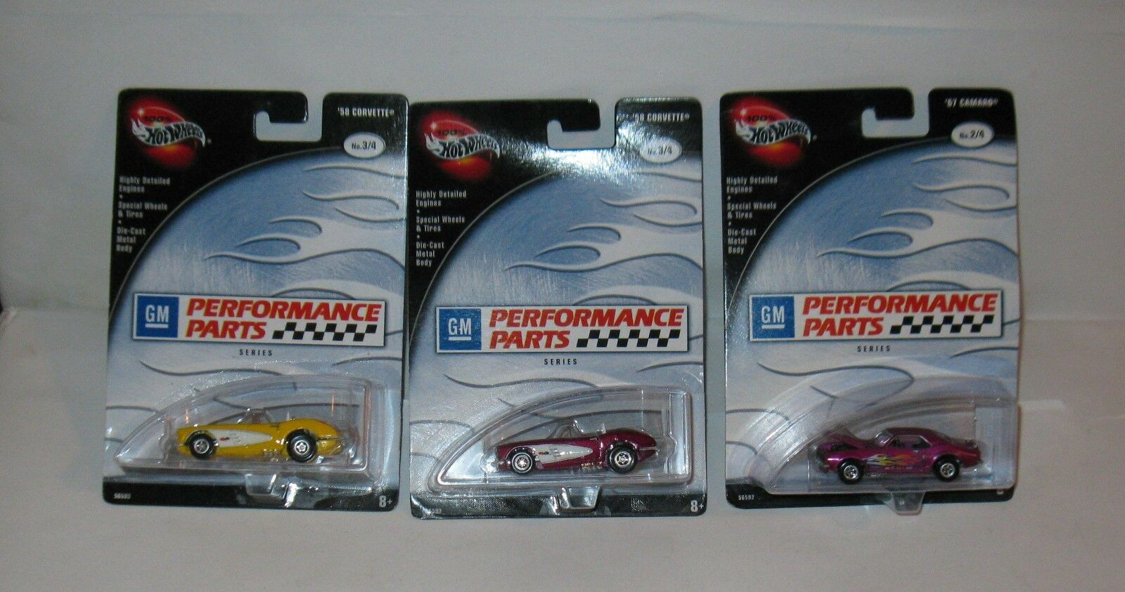 Hot Wheels GM Performance Parts Cars lot 3 Differents FREE