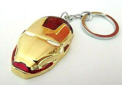 Iron Man Avengers Maschera Logo All'interno Portachiavi 60 Mm, Confezione Regalo Festa Di Compleanno Marvel-mostra Il Titolo Originale