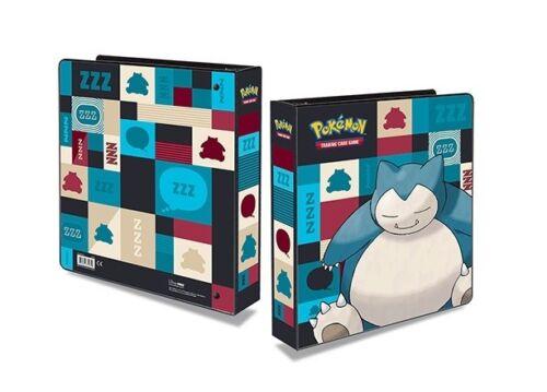 20 feuilles Ultra Pro album pour 360 cartes 411865 Classeur Pokémon SNORLAX
