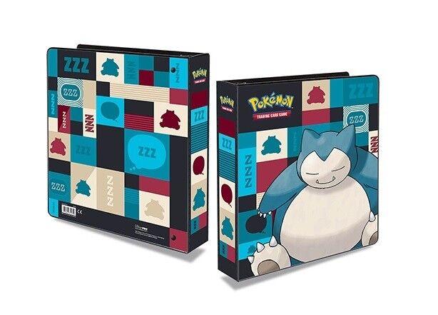 Folder Pokemon Snorlax +20 Leaves Ultra pro Album for 360 Cards 411865