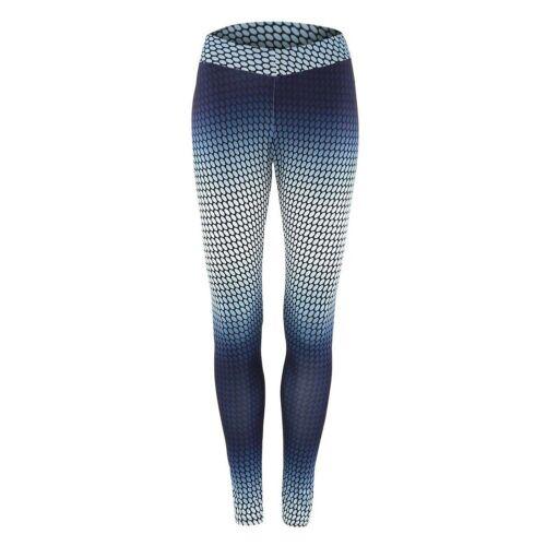 Leggings Damen bedruckt Sport Leggins Ladies Motiv Muster Stretch Legins Hose