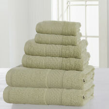 Luxury Hotel /Spa Bath Towel Sets 6Pcs 100%Cotton Wholesale Popular