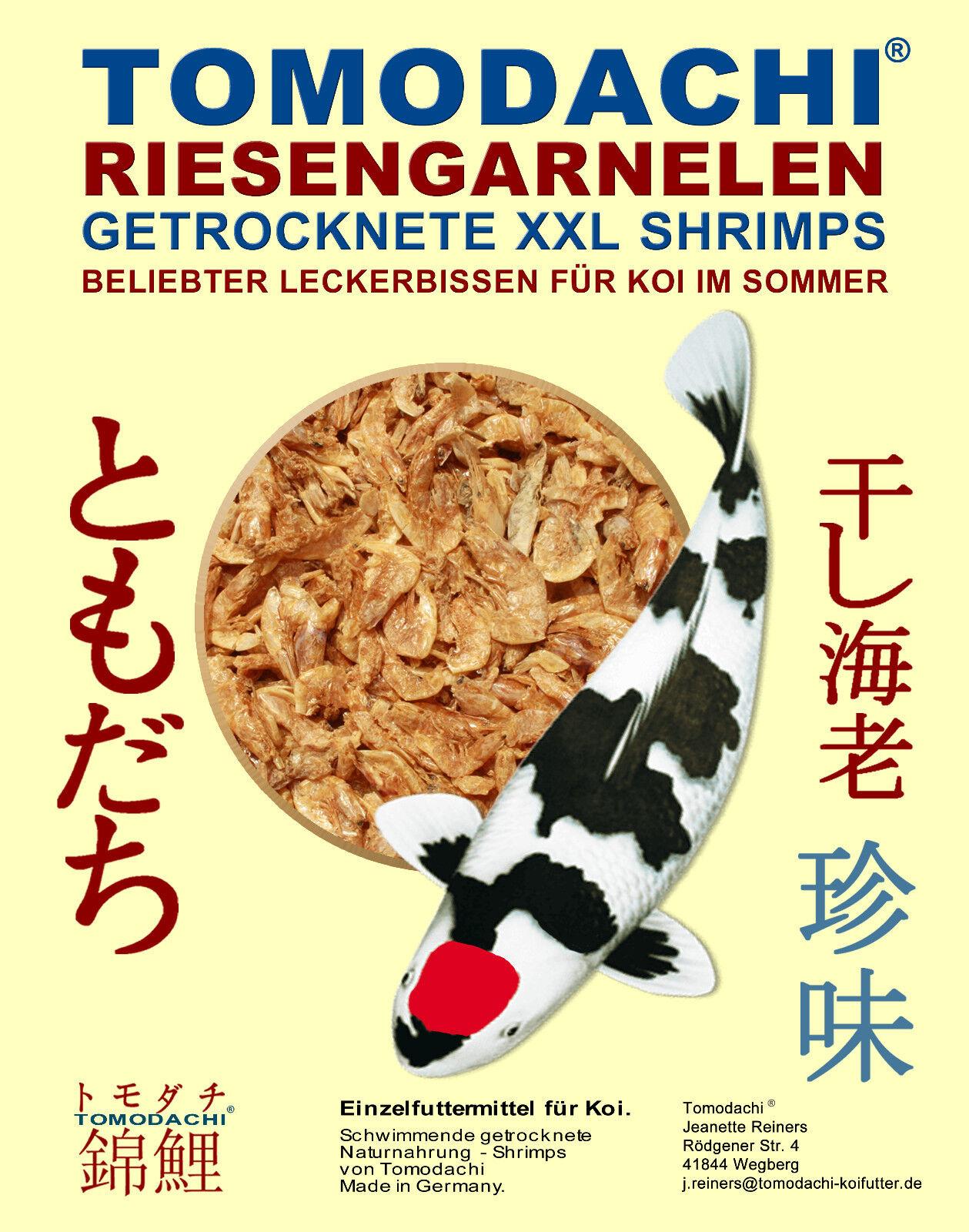 RiesenGarnelen Sommerfutter für Koi Koi Koi +Reptilien Gambas getrocknete Shrimps 5kg 0ce399