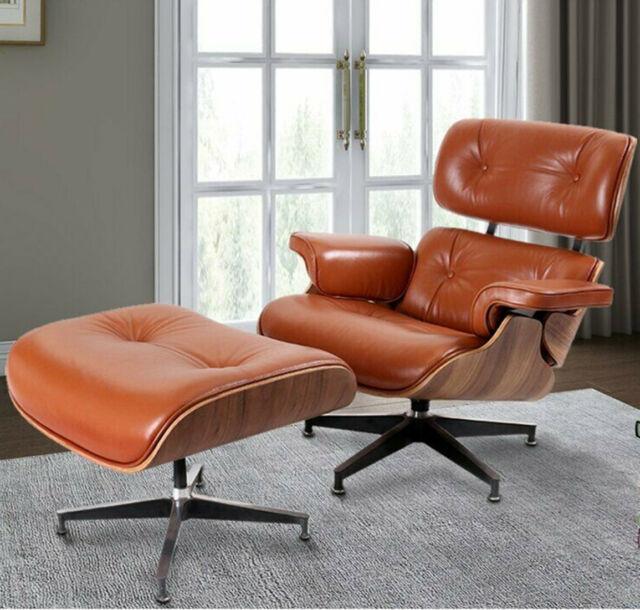 Lounge Chair Ottoman Genuine Rosewood