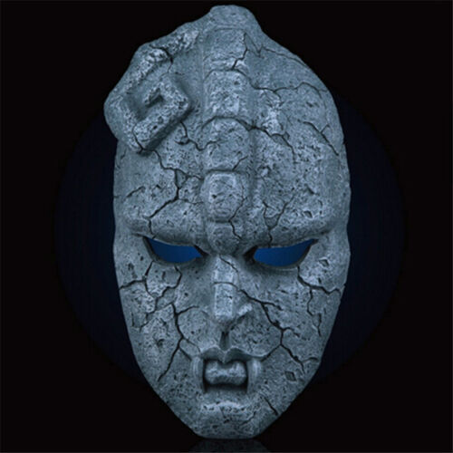 Jojo Bizarre Adventure Stone résine Masque Masque Cosplay Halloween Déguisement Replica