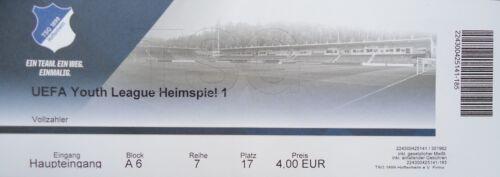Eintrittskarten TICKET UEFA YL 2018/19 TSG 1899 Hoffenheim Manchester City