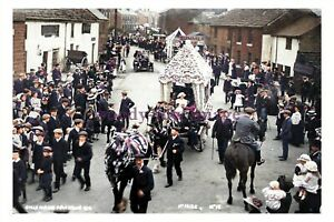 ptc3238 - Yorks. - 1st Prize Float, Penistone's Cycle Parade in 1912 - print 6x4