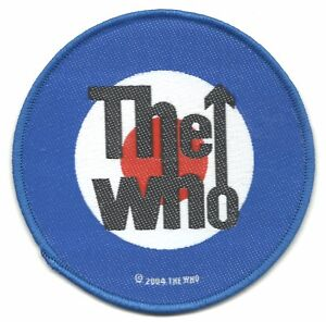 WHO-target-logo-circular-2004-WOVEN-SEW-ON-PATCH-official-merch-no-longer-made