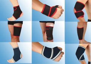 Gelenkbandage-18-verschiedene-Sportbandagen-Knie-Hand-Knoechel-Unisex