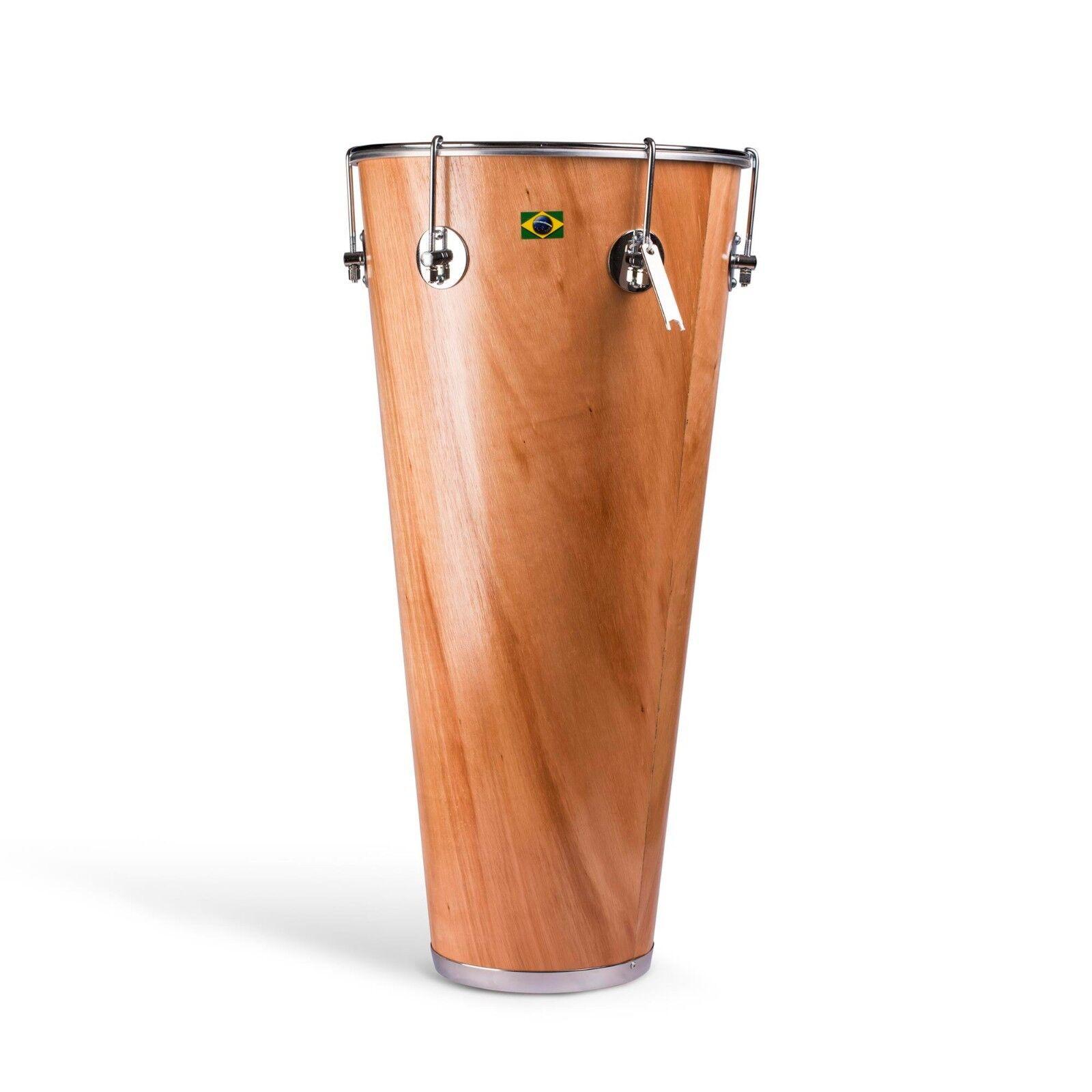 Brasilian Cuban Timba Natural Wood Drum Salsa Samba Music Instrument 4 Sizes