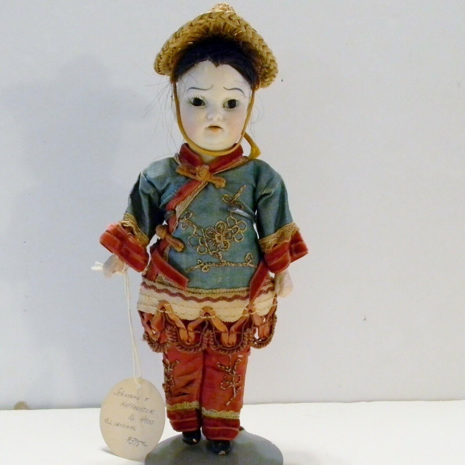 Antiguo Schoenau & Hoffmeister Doll  C1890-1900  Asiático Boy  9