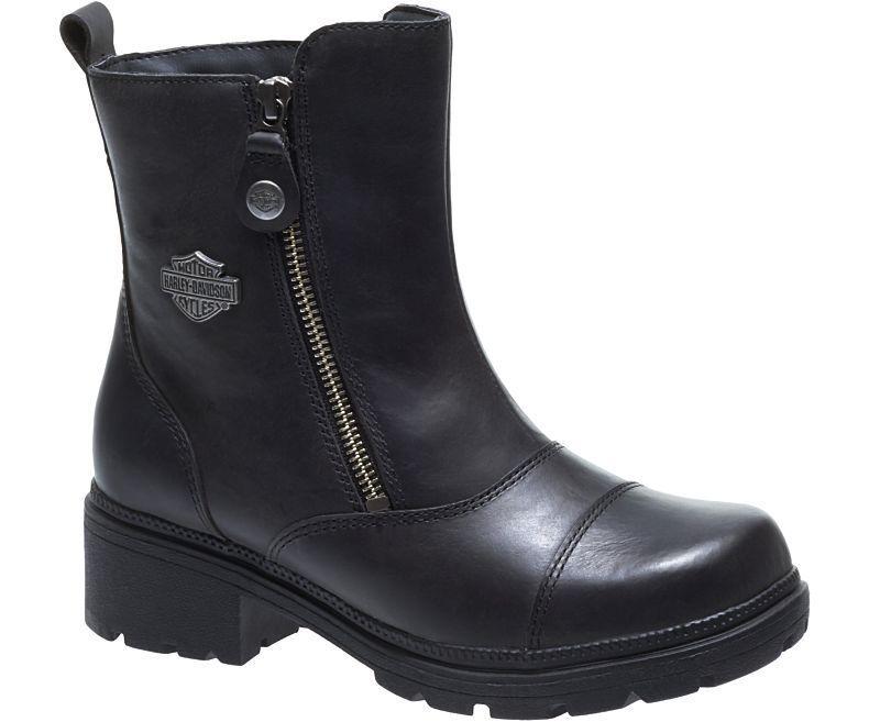 Harley-Davidson Women's AMHERST Black Full leather Boots D84236 D84236 D84236 8d5b0c