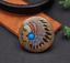 Antique-Brass-Southeast-Ethnic-Indian-Head-Turquoise-Leathercraft-Belt-Conchos miniature 1