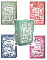 Anne Of Green Gables 4 Book Boxed Set Anne Of Green Gables,avonlea,island,dreams