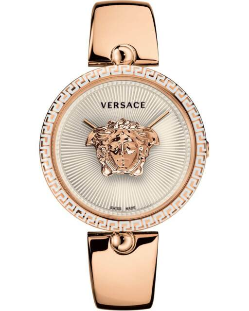 d78fbcab4b65 Versace Palazzo Empire Rose Gold Stainless Steel Bracelet Vco110017 ...