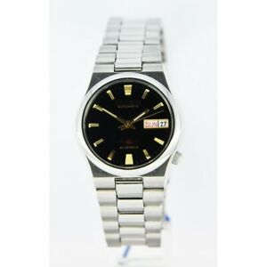 Citizen-Classic-Automatic-Men-039-s-Stainless-Strap-Watch-NH3740-51E