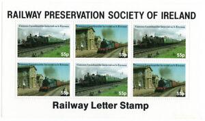 I-B-Ireland-Cinderella-Railway-Preservation-Society-Mini-Sheet-55p