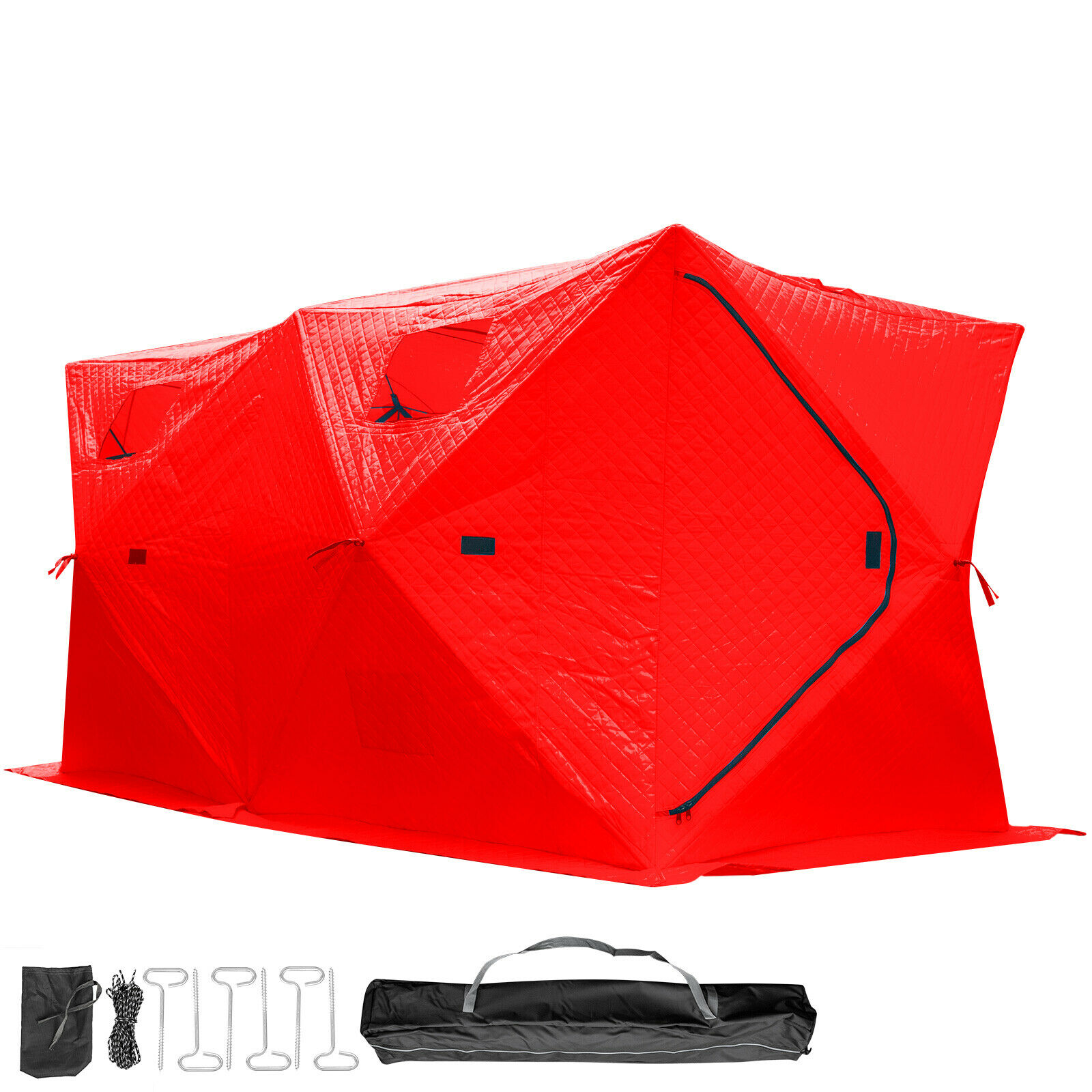 Ice Fishing Shelter Tent Portable House Outdoor FishEquipment W  Carry Bag