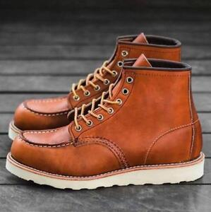 red wing heritage classic moc toe 6 boot 875 oro legacy mens us