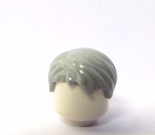Lego 1 Hair Wig For Male  Man Minifigure Figure Short Grey