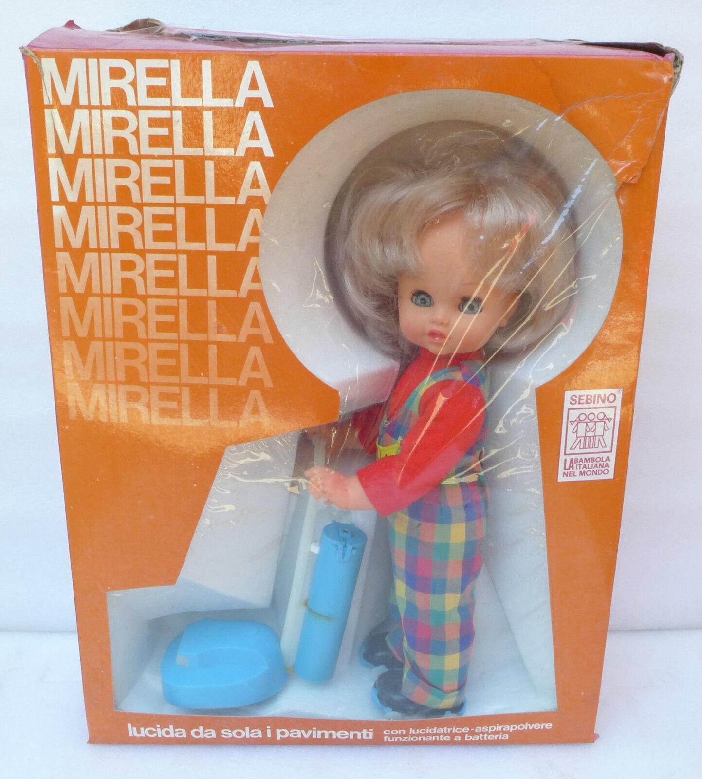 Bambola Mirella Lucida Pavimenti anni 70 Sebino polistil politoys RARISSIMA RARE