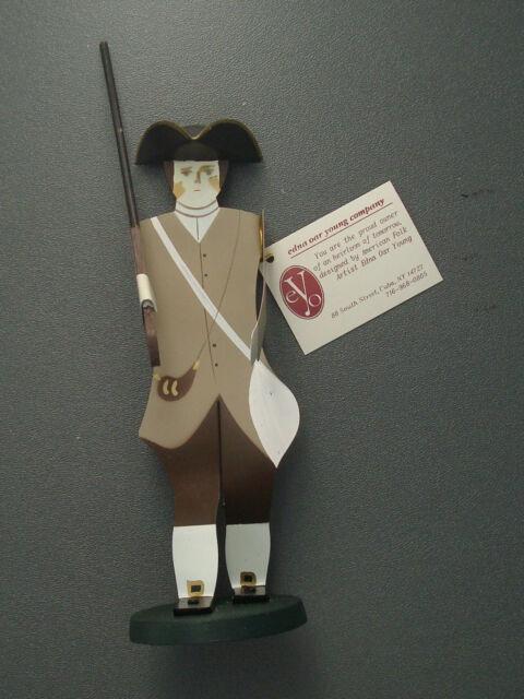 Edna Oar Young Shadowdancer folk art American Colonial patriot revolutionary war
