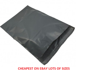 Strong Grey Plastic Mailing Post Poly Postage Bags Self Seal ALL SIZES CHEAP