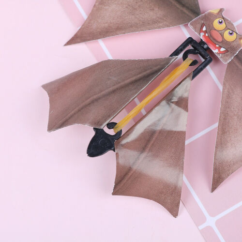 Magic flying bat prank flying paper bats funny halloween card gift
