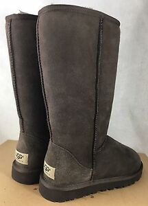 ugg australia classic tall sheepskin boot sand chestnut chocolate rh ebay com