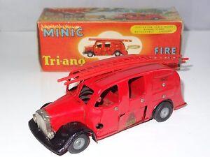 Pompier Triang Minic - Mécanique en fer blanc de 62 m