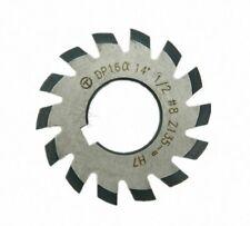 8pcs Dp16 Pa14 12 Bore22 1 8 Involute Gear Cutters Set
