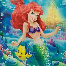 ARIEL~REUSEABLE~TOTE~ECO~SHOP~BAG~The Little Mermaid~FLOUNDER~NWT~Disney Store