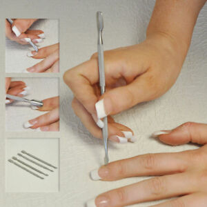 Cuticle-Pusher-Stainless-Steel-Gel-Polish-Soak-off-Remover-Manicure-Nail-Tool