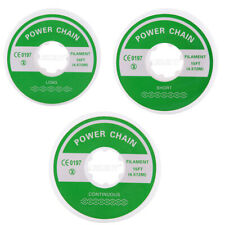 3 Size Dental Orthodontic Elastic Ultra Power Chain Clear Continuousshortlong